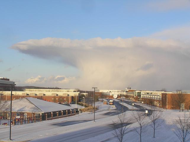snow squall example picture