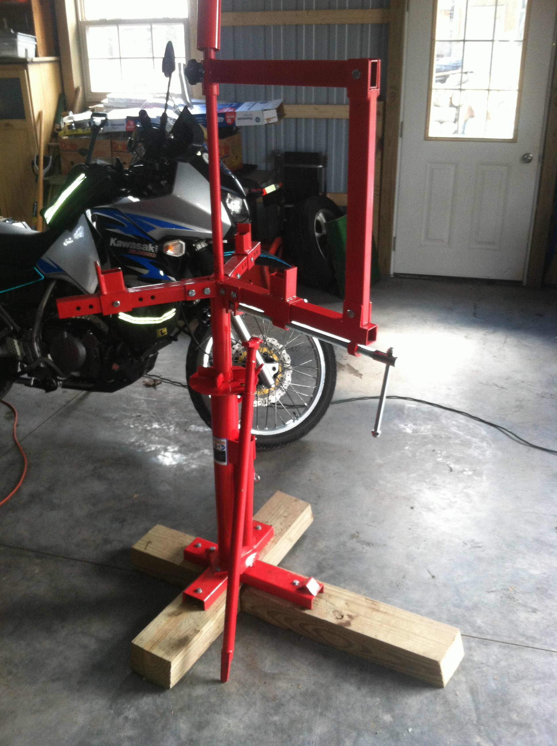 Motorcycle Tire Changing Is Getting Better With The Right Equipment