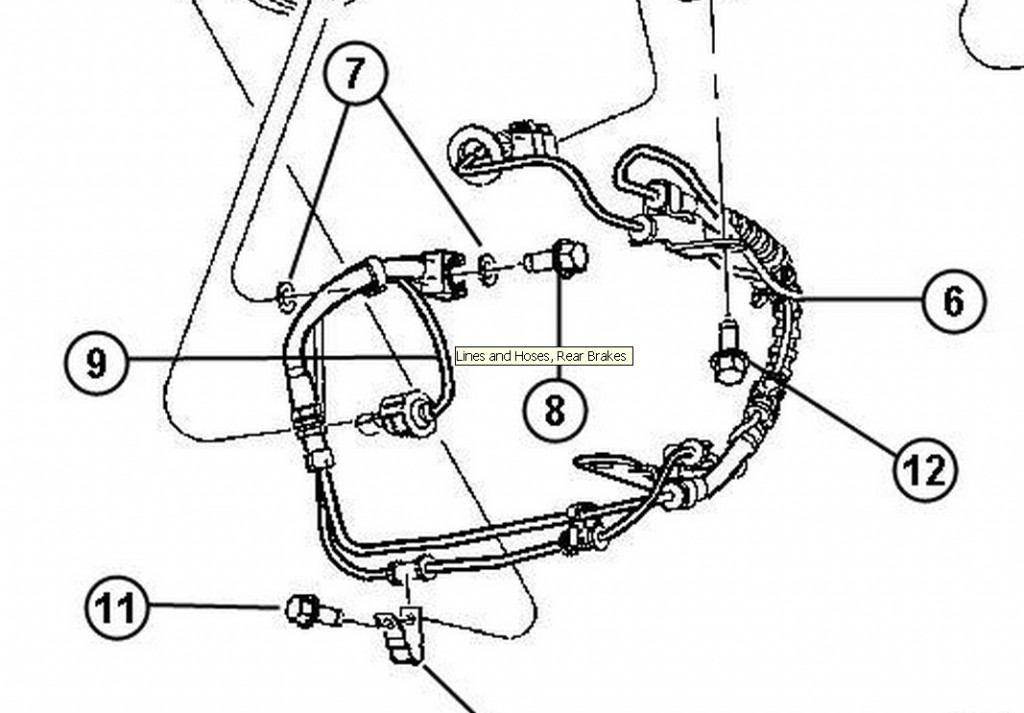Chrysler Brakes Diagram